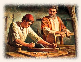 jesus was a carpenter meet the parents
