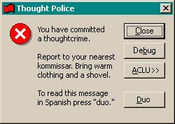 thoughtpoliceError
