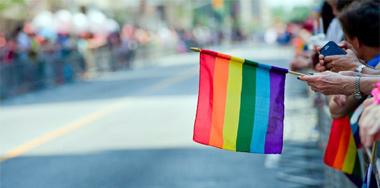rainbowflagwaving