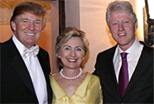 trump&theClintons