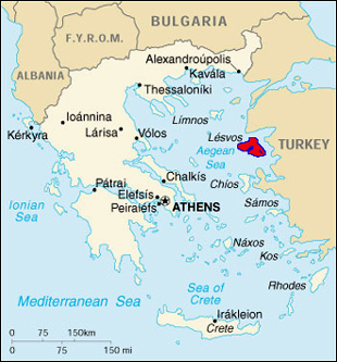 Greece-Lesvos