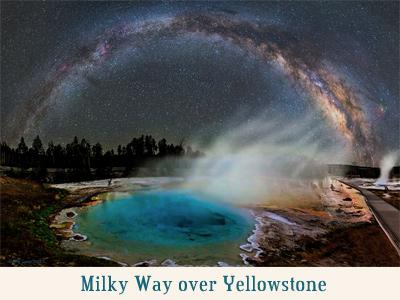 MilkyWayoverYellowstone
