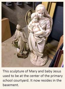 statueofMary-Jesus