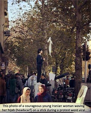 Iranprotests-hijabonastick